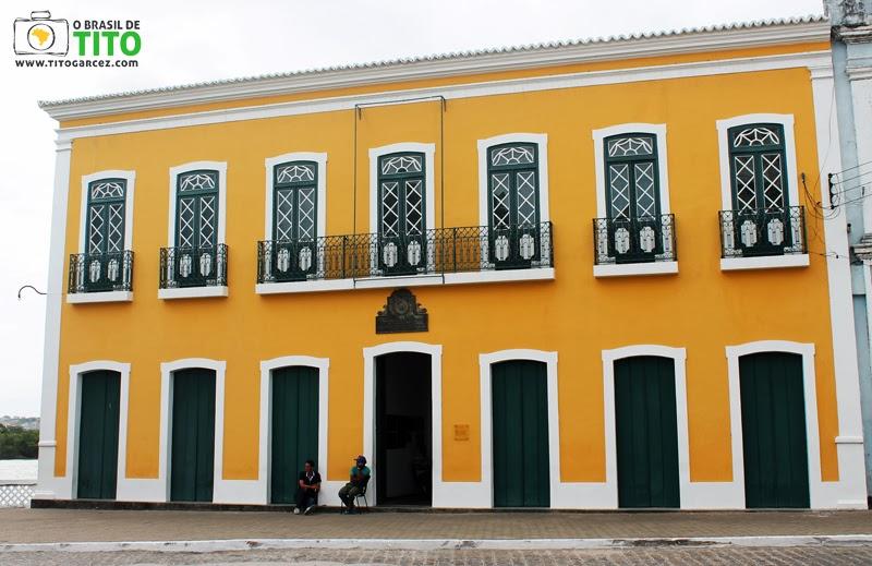 Paço Imperial, uma das principais construções de Penedo, em Alagoas