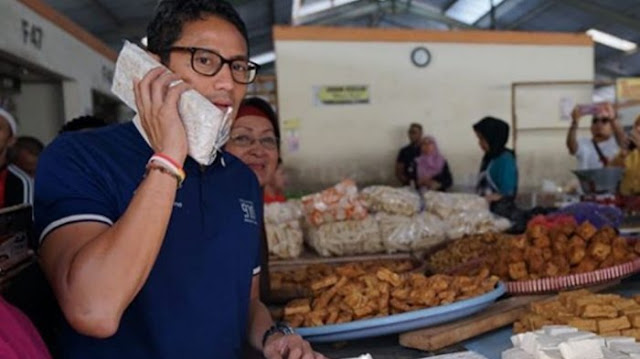 Gaya Kampanye Sandiaga Uno Bisa Merepotkan Jokowi-Ma'ruf