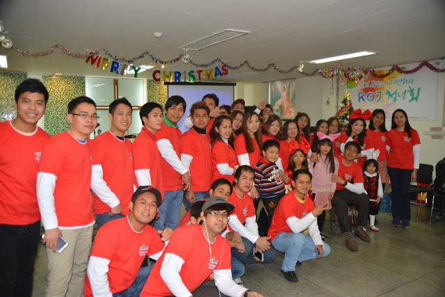 5 Pinoy Trademarks in Christmas Celebration of Filipino Community in South Korea