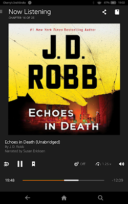 ECHOES IN DEATH by JD Robb audiobook
