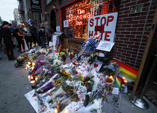 Stonewall Memorial to Pulse