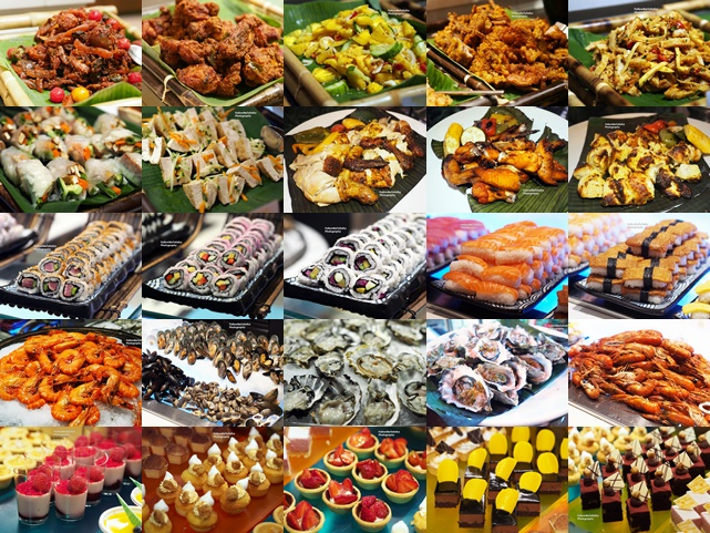 Sumptuous Spread Of A Wondorus Ramadan Buffet