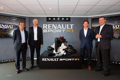 Presentazione motore Renault di Formula 1 per l'anno 2014