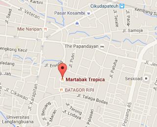 Lokasi Martabak Tropica, Martabak Manis Paling Enak di Bandung
