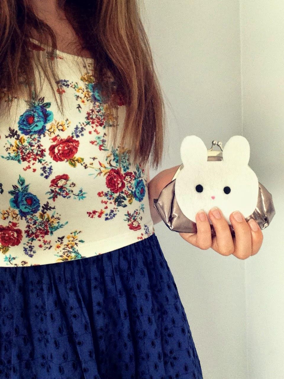Cute Bunny Coine Purse