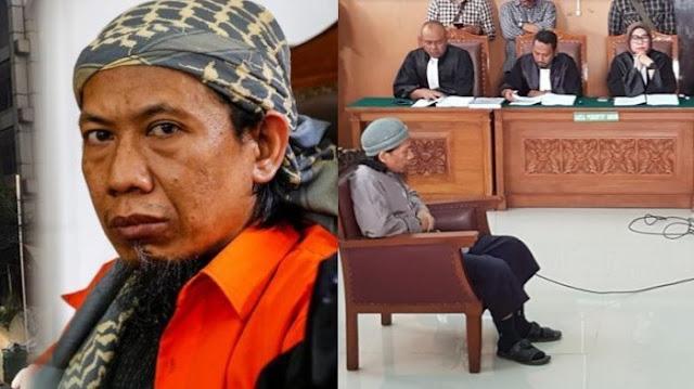 6 Fakta Mengerikan Tentang Sosok Gembong Teroris Yang Dituntut Hukuman Mati, Aman Abdurrahman