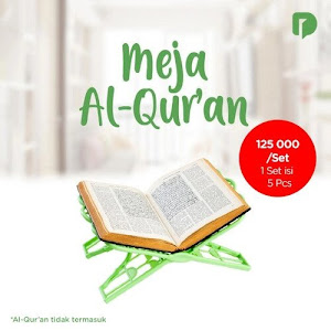 Meja Al Quran Set (Set of 5)