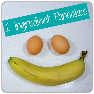 2 ingredient banana pancakes for kids