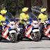 Ratownicy na motocyklach