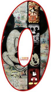 Abecedario de Escenas de Mickey Mouse. Mickey Mouse Abc.