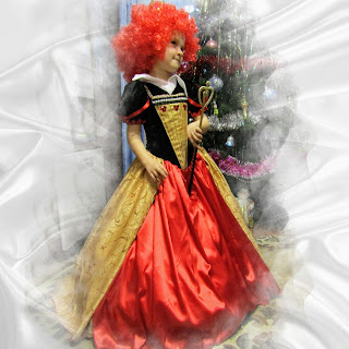 Новогодний костюм Красная королева из Алиса в стране чудес