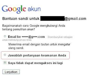 Pemulihan gmail