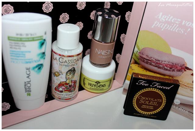 Glossybox Octobre 2015 La Gourmande - Les Mousquetettes@