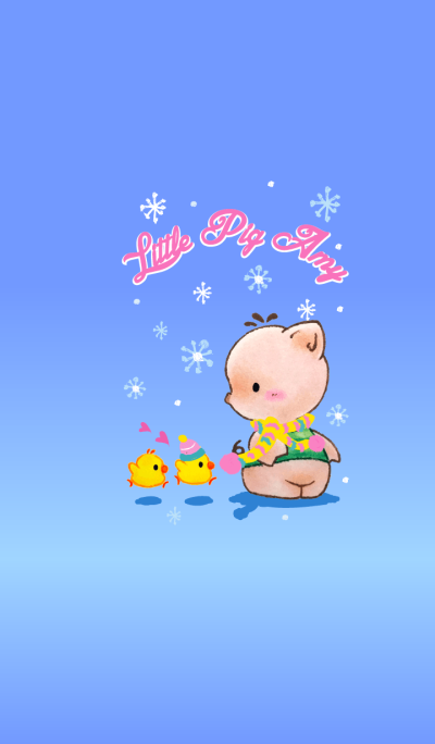 Little Pig Amy~Snow