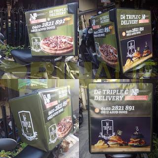 Tas delivery makanan solo triple c