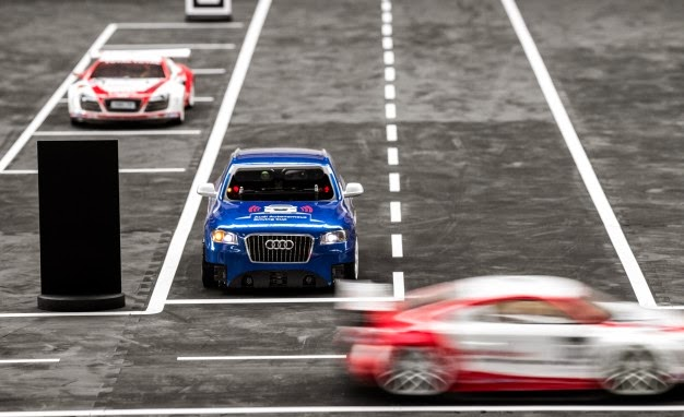Audi Ask Students to Code Self-Driving Cars [VIDEO] | Electric Vehicle