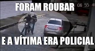 [VÍDEO] FORAM ROUBAR E A VÍTIMA ERA POLÍCIAL. OLHA NO QUE DEU