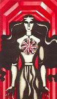 spīdala, lāčplēsis, bearslayer, latvian folklore, latvian mythology, latviešu folklora, latviešu mitoloģija, capital r, 2018, drawing