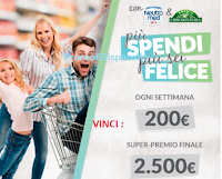 Logo Neutromed e Antica Erboristeria ''Più spendi, più sei felice'': vinci buoni spesa da 200€ e da 2.500€