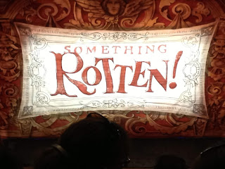 Something Rotten curtain broadway musical