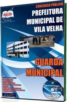Apostila Guarda Municipal da Prefeitura de Vila Velha ES