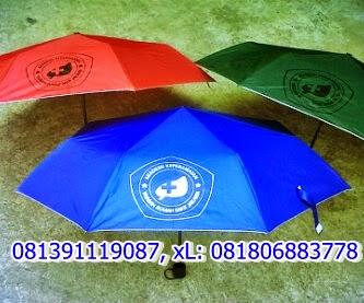 Souvenir payung, payung lipat, payung lipat 3, payung cantik, payung unik
