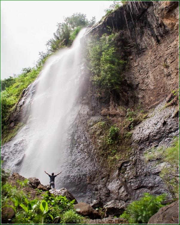 Lokasi Alamat Curug Sikebut Karanggayam - Air Terjun Alami Penuh Keindahan Di Kebumen