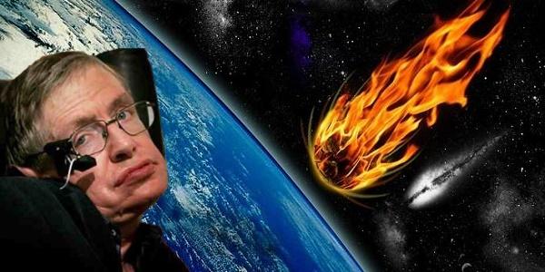 Στίβεν Χόκινγκ: Υψηλή πιθανότητα πρόσκρουσης αστεροειδούς στη Γη