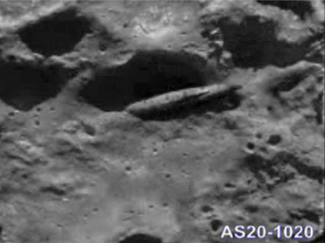 The best evidence of UFOs on the Moon.