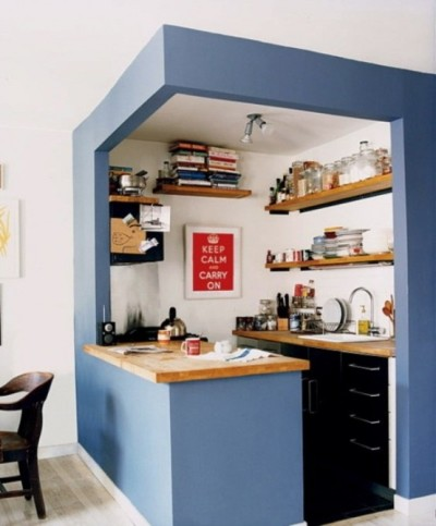 Dapur terbuka lebih baik dibanding ruang dapur tertutup.