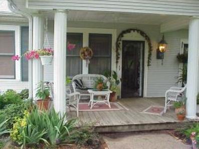 model teras rumah minimalis klasik