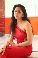 Actress Zahida Sam Latest Stills in Red Long Dress at Badragiri Movie Opening .COM 0232.JPG