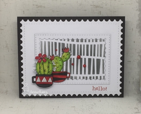Hello by Debbie features Serene, Framework, and Cuppa Cactus by Newton's Nook Designs; #newtonsnook