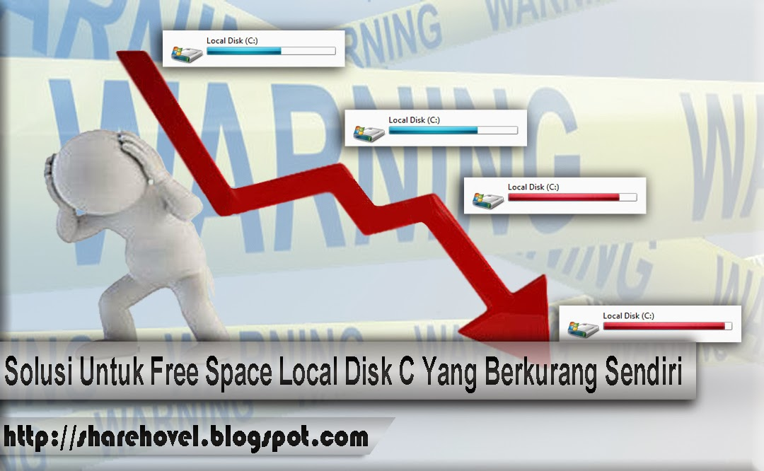 how to clear local disk space