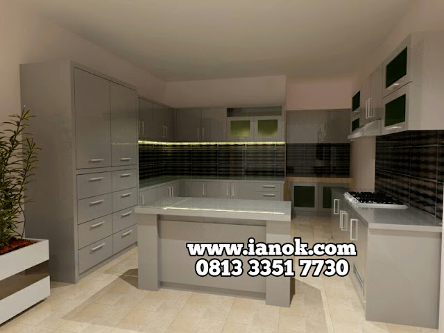 kitchen set murah surabaya sidoarjo
