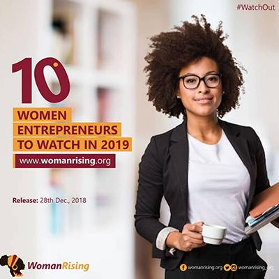 10 Women Entrepreneurs to watch in 2019