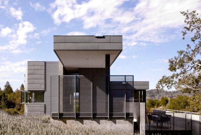 modern home in Sonoma by Cooper Joseph Studio
