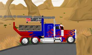 لعبة شاحنة المتحولون