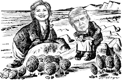 Through the Looking Glass with Hillary and Donald