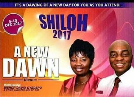 Shiloh 2017 Day 2 Evening Messages- Bishop David Oyedepo 6/12/2017