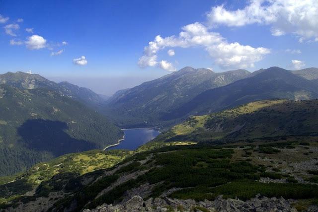 Los montes de Rila, Bulgaria
