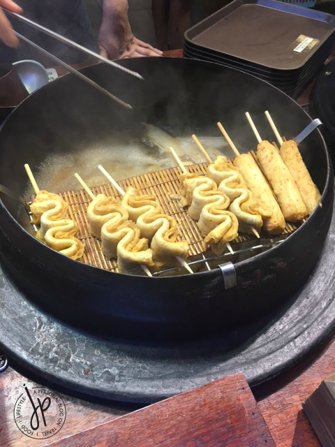 Busan fishcake_Bupyeong Kkangtong Night Market