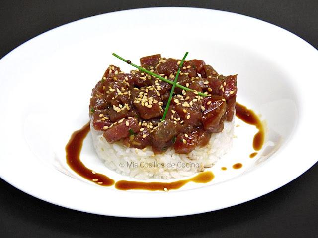 receta-tartar-atun-arroz