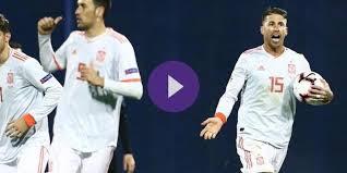 اون لاين مشاهدة مباراة اسبانيا ومالطا بث مباشر 26-3-2019 التصفيات المؤهله ليورو 2020 اليوم بدون تقطيع