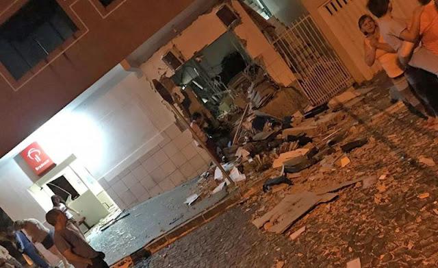 Bandidos explodem agência do Bradesco de Palmital e causam terror a moradores