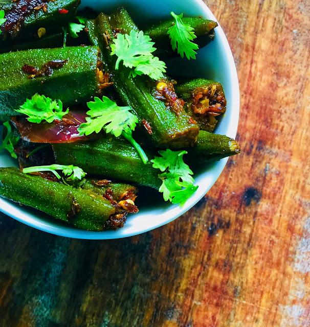Bharwan-Bhindi-Masala-Recipe-Served