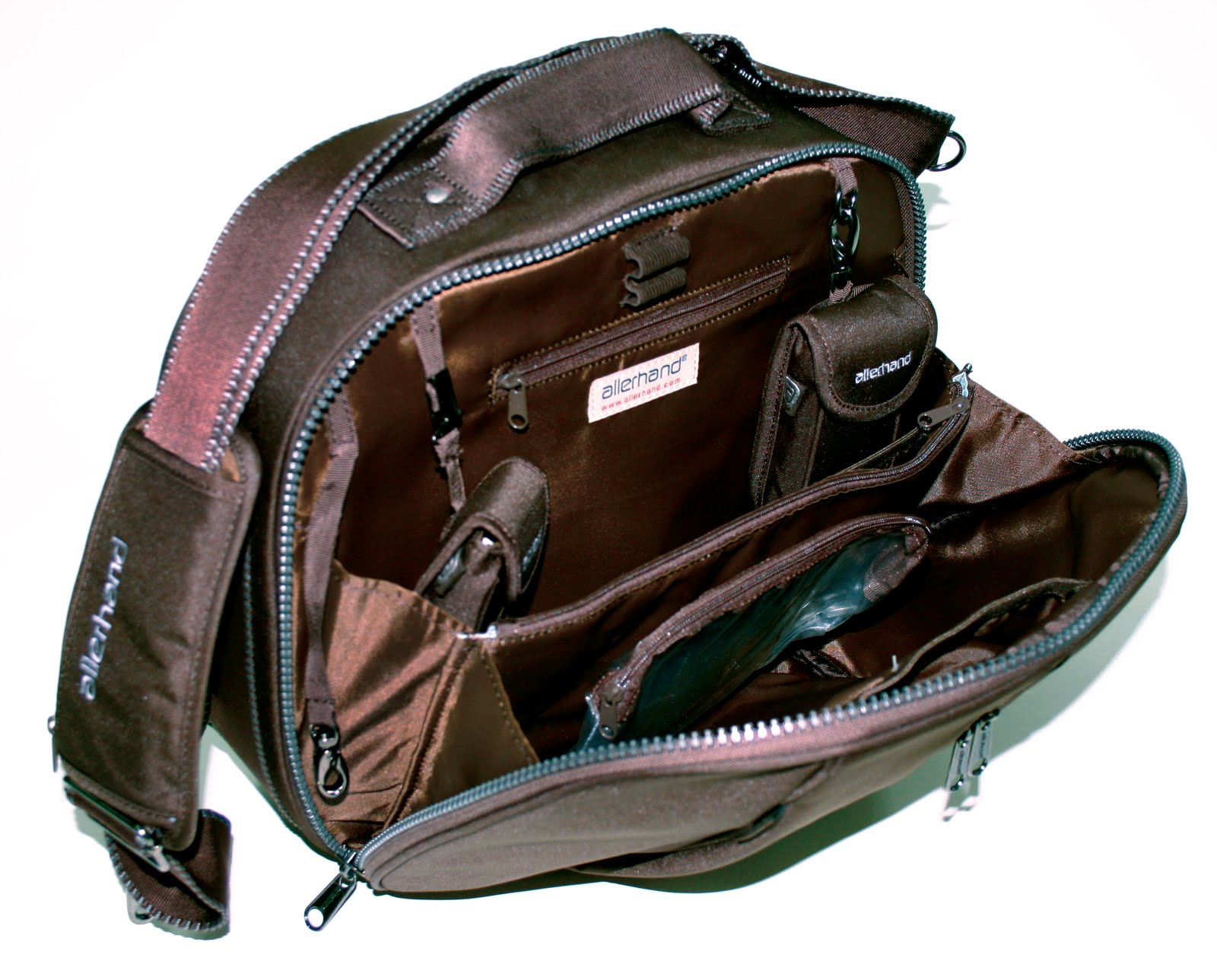 239997418 Practical Carry on Bag with double zipped opening on main compartments for  easy access