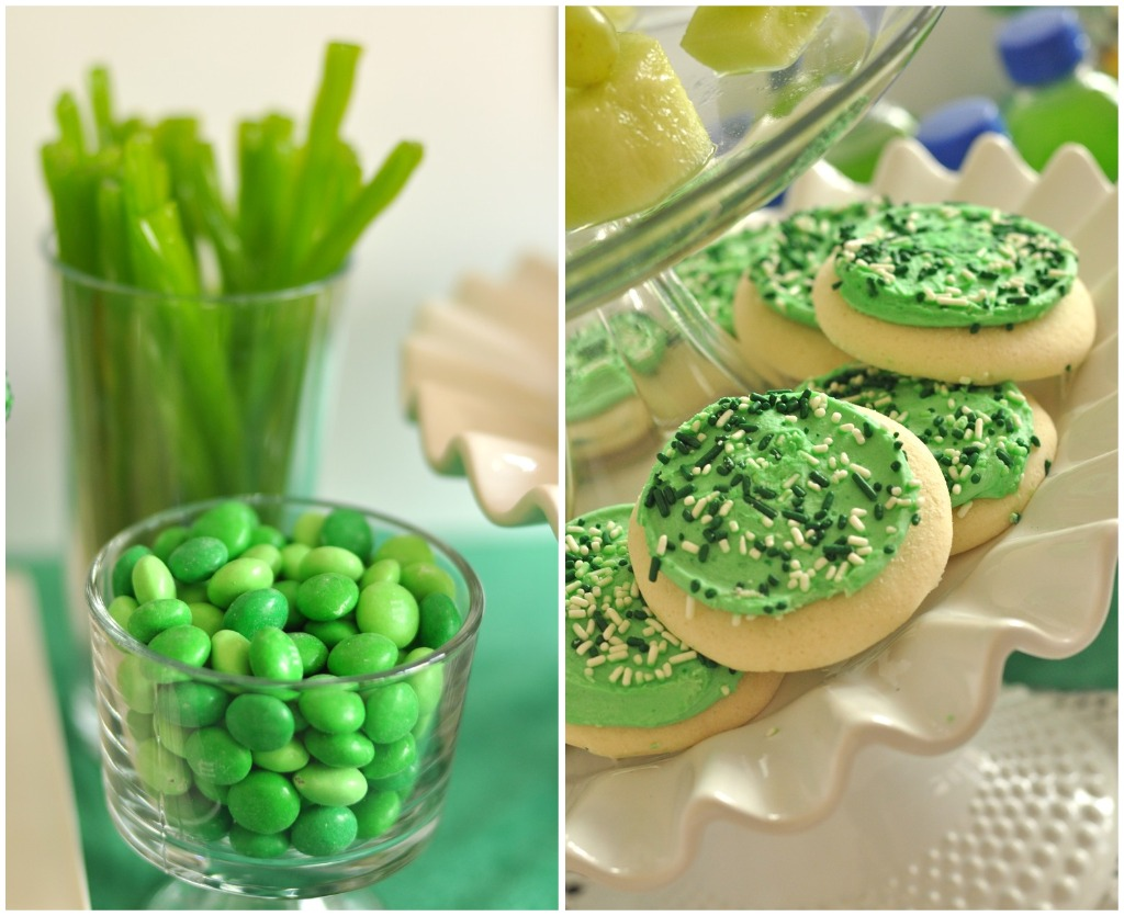St Patrick's Day Rainbow Inspired Party Sweet Treats - via BirdsParty.com