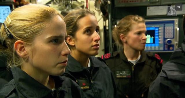 Portugal admitira mujeres en submarinos