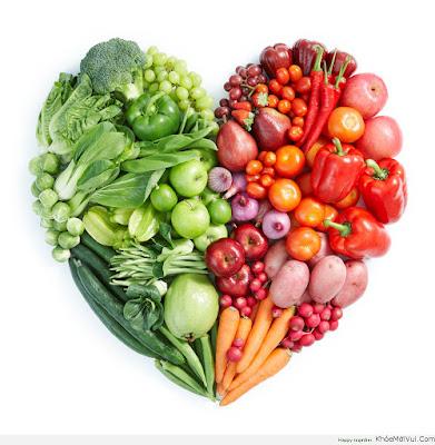 Chế độ ăn tốt cho tim mạch